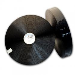 "Black 2"" 3 groove Regular Thick 101"