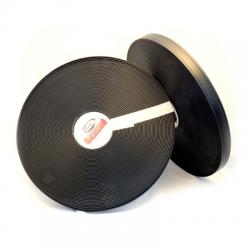 "Black 1/2"" 2Groove Regular Thick 281"