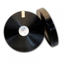 "Black 1"" 4 groove Regular Thick 401"