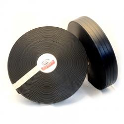"Black 2"" 4Groove Regular Thick 281"