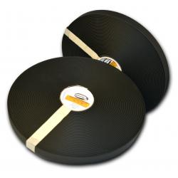 "Black 1"" 2Groove Regular Thick 231"