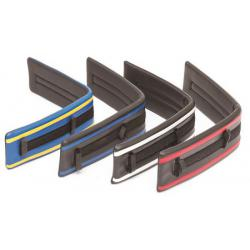 Saddle Pad Vinyl/Neoprene w/Stripe