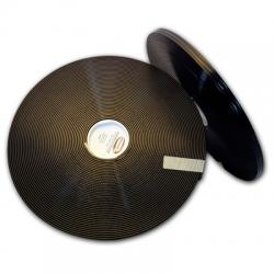 "Black 5/8"" 2Groove 401 Regular Thick"
